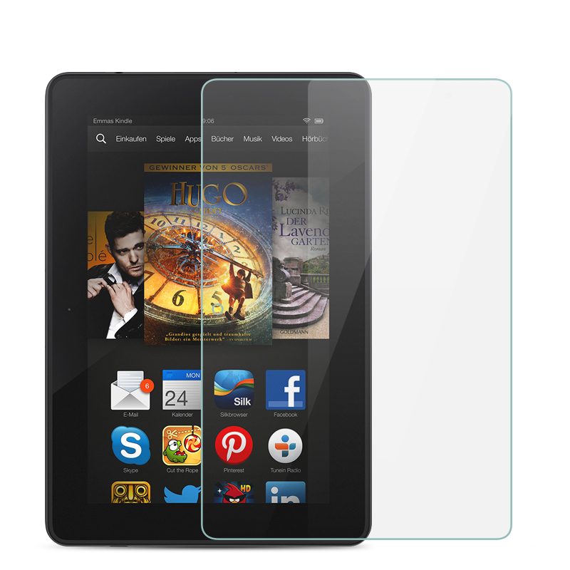 """3 Pack Clear Tablet Screen Protector Guard For 7/"""" Amazon Fire Kids Edition 2015"""