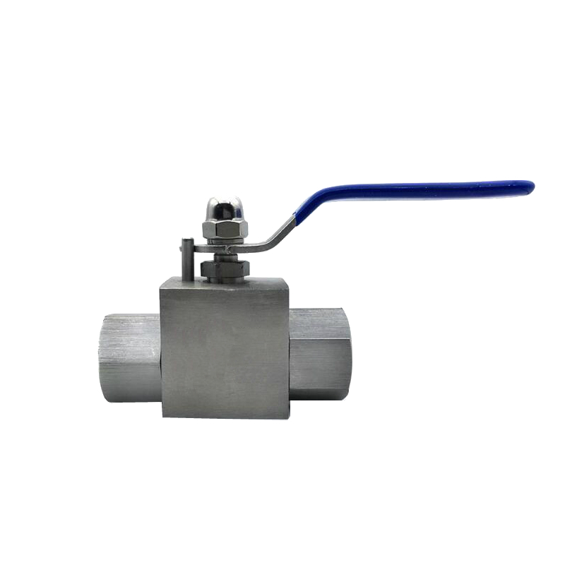 Stainless Steel 304 Hydraulic High Pressure Ball Valve 1/4 3/8 1/2 3/4 BSP Female