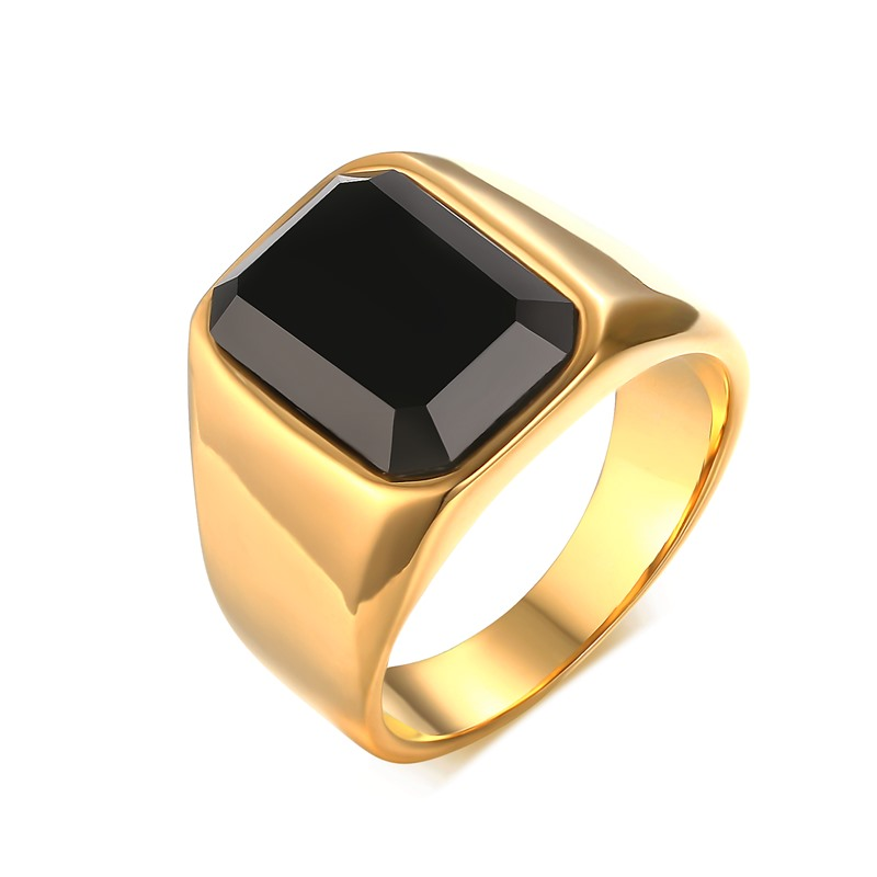 Nordic Sweden minimalist single product men rings jewelry high