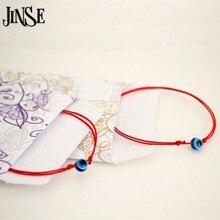 Red String Blue Evil Eye Simple Cheap Bracelet Fashion Kabbalah For Women Baby Child Set of Two 2