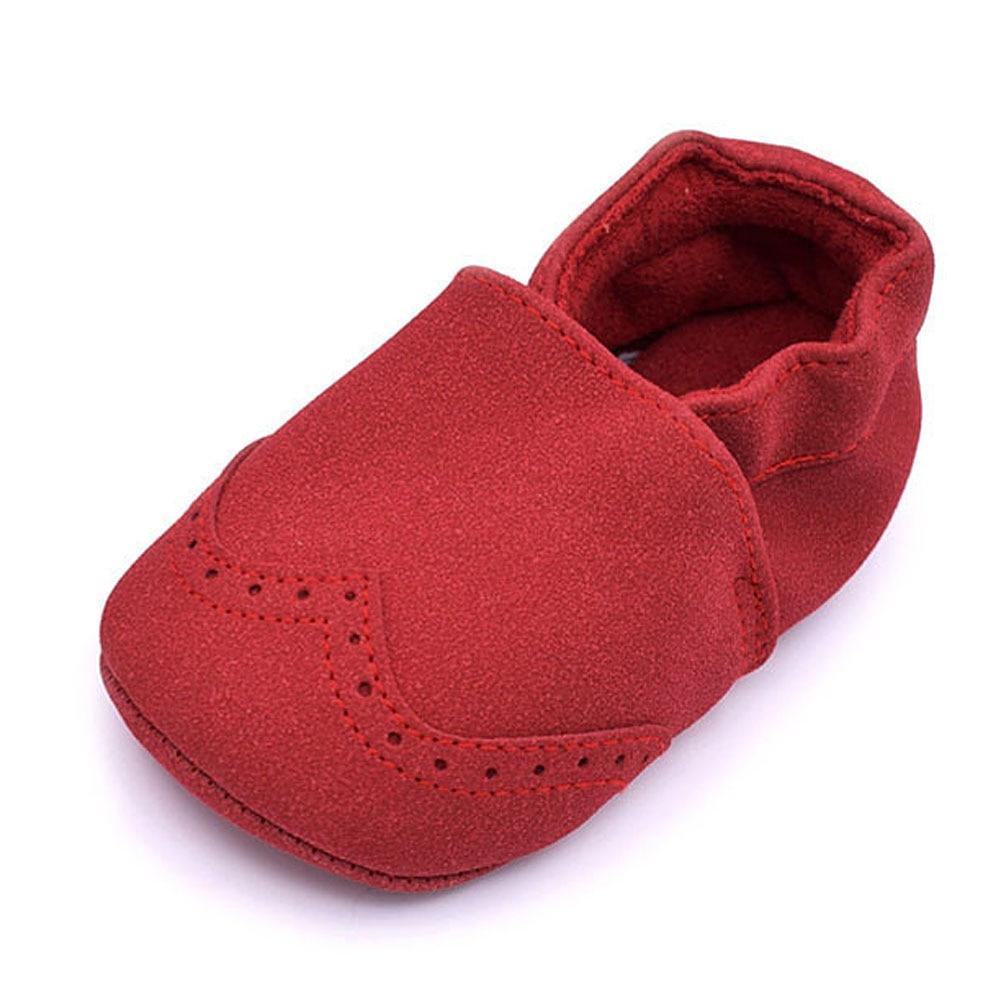 75730f050a18d Bébé chaussures nouveau né chaud en cuir pantoufle enfants chaussons hiver  mocassins Nubuck chaussures enfant en bas âge enfants semelle souple  premiers ...