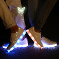 Light Up For Adults Women Shoes LED Ladies Tenis feminino With Luminous Women Chaussure Femme Girl Shoe Krasovki Female Boty x48