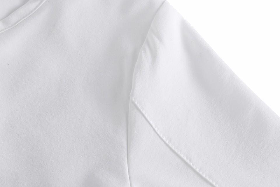 HTB1uSKxNpXXXXaDXXXXq6xXFXXXG - Short Sleeve White Chiffon Blouses Womens Clothing Summer