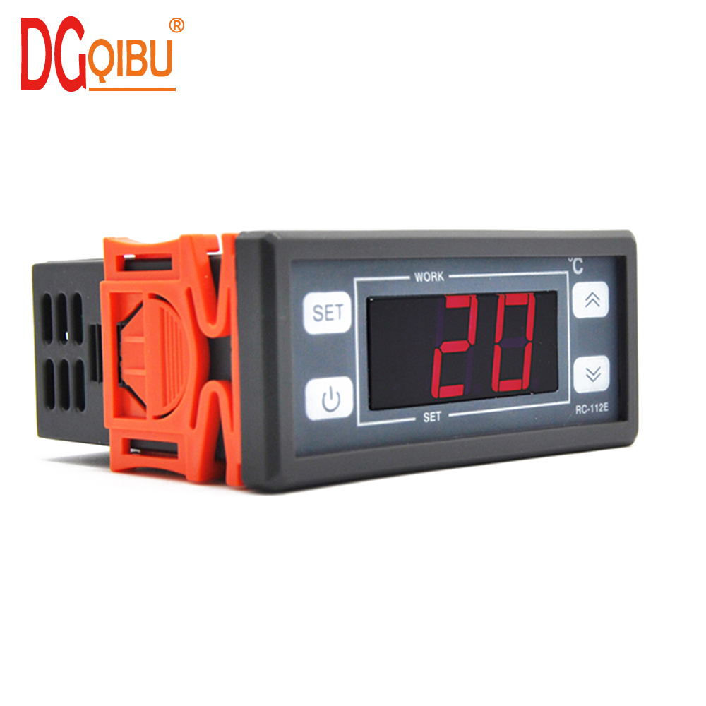 Refrigerator Aquarium Digital Temperature Controller Seafood Stc1000 Microcomputer 220v W Sensor Thermostat 10a With 4099c Heating Cooling Control In Instruments From