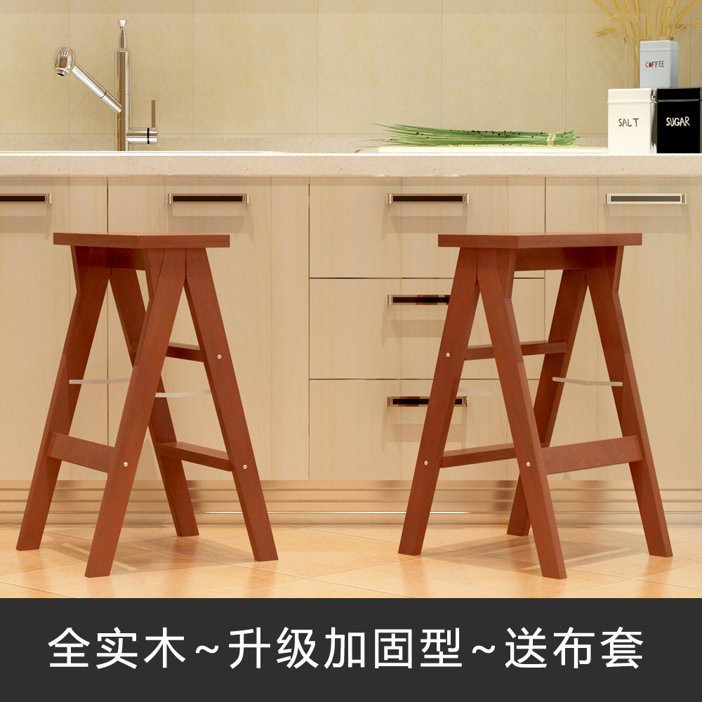 Tremendous Us 70 7 25 Off Modern Folding Wooden Bench Kitchen Furniture Small Footstool And Cushion Home Folding Step Stool In Step Stools Step Ladders From Beatyapartments Chair Design Images Beatyapartmentscom
