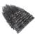 Americans Remy Grampo na Extensão Do Cabelo Encaracolado profundo 100 Real Extensão Do Cabelo Humano Clipe em 9 Pcs 120 g/set Preto Natural cabelo