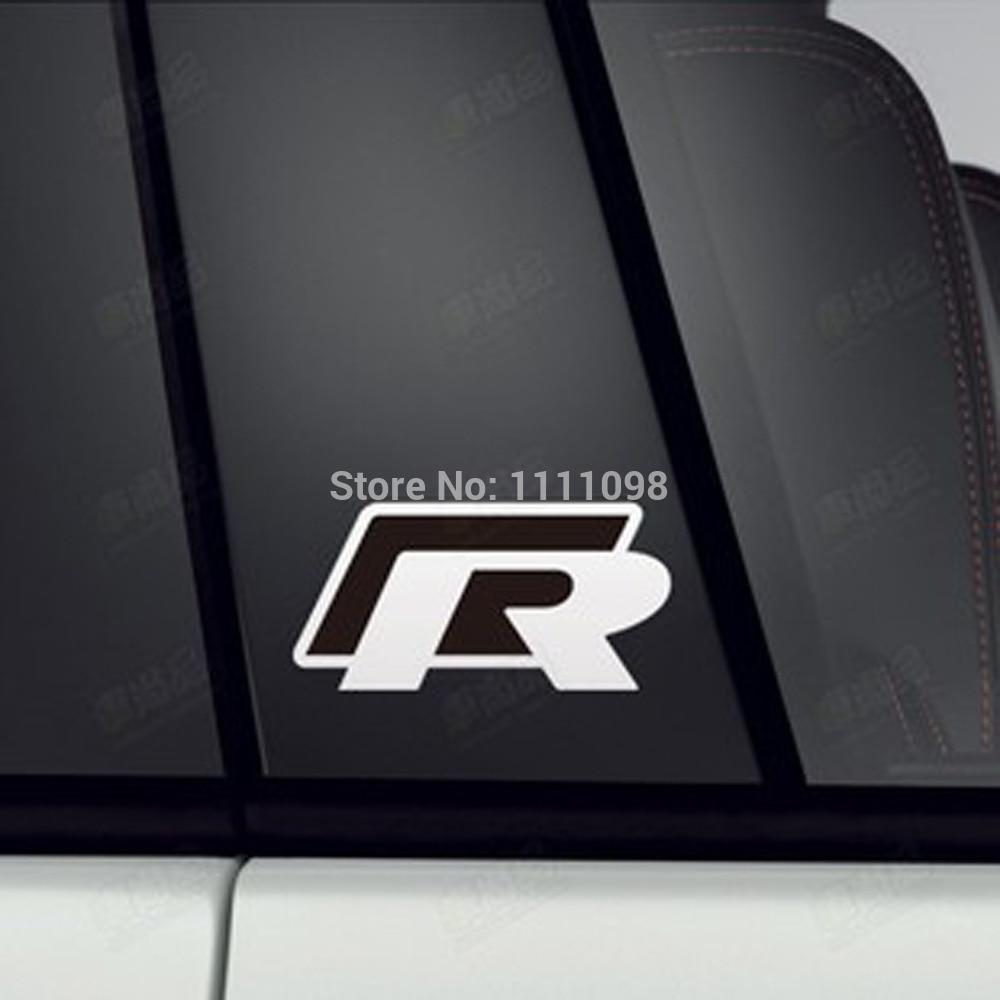 Car decal designer online - 40 X Newest Design Car R Any Body Decoration Stickers Car Decals For Vw Volkswagen Passat