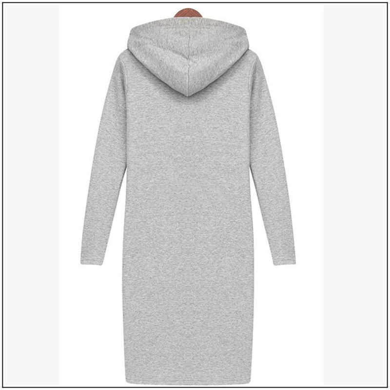 26e3cfe8e NEW Arrival Plus Size Spring Style Women Long Hoodies & Sweatshirt ...