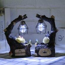 Светодиодный ночник с аниме драконом котом, маленький светодиодный ночник для детской спальни, маленький светодиодный ночник, подарок на день рождения для мальчика, Рождественский подарок