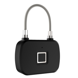 Image 2 - 골든 보안 스마트 잠금 장치가없는 스마트 지문 잠금 IP66 방수 도난 방지 보안 자물쇠 도어 수하물 잠금 장치 L13