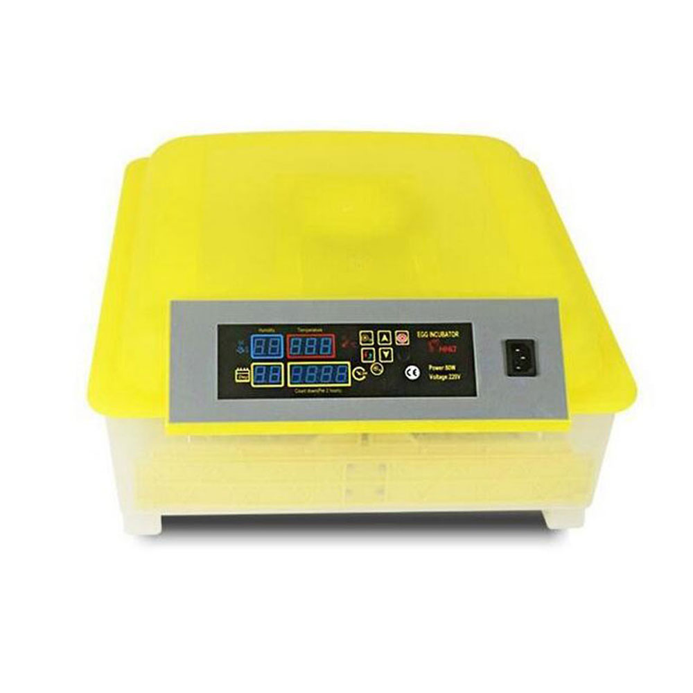 Fully Automatic Turning Incubator Digital Temperature Control 48 Eggs Tray for Duck Chicken Bird Quail Egg Incubation Equipment 48 digital egg incubator hatcher temperature control automatic turning chicken duck bird hatching machine