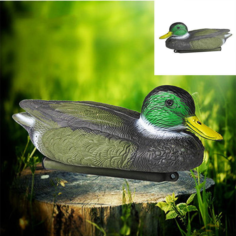 High quality New PE Material Realistic Duck Floating Lure Hunting Bait for Outdoor Shooting Accessories