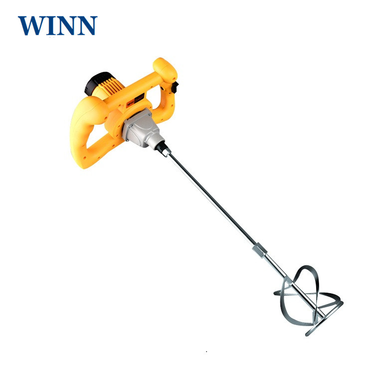 Portable 220V Electric Stirrer paint cement putty paste feed mixer blender multipurpose stirring machine