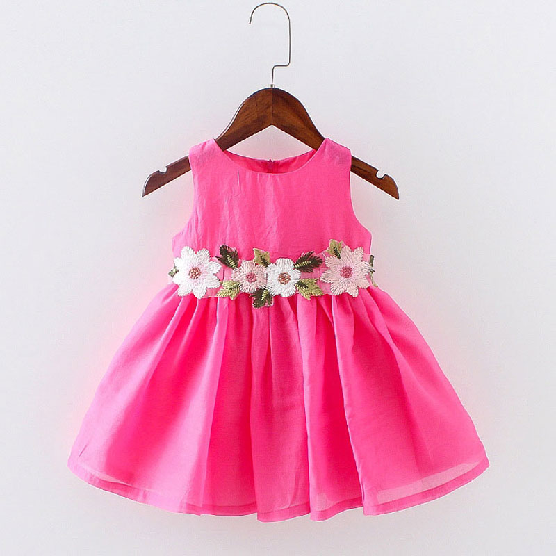 Подробнее о Toddler girls children clothing Summer Dress For little kids Girl Wear Clothes Floral Princess party tutu Dresses Wedding dress girl dress summer 2016 brand children costumes for girls kids clothes floral print little girls dresses princess costume 2colors
