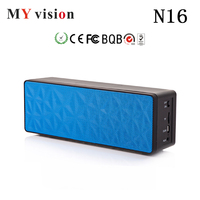 N16 Bluetooth Speaker Water Cube Wireless Speakers Double Speakers Stereo Audio Music Box Touch Panel Control