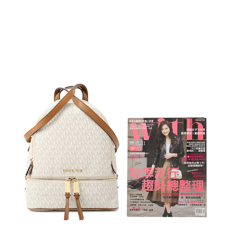 ... Michael Kors MK Rhea Zip MD Backpack 30S7GEZB1B
