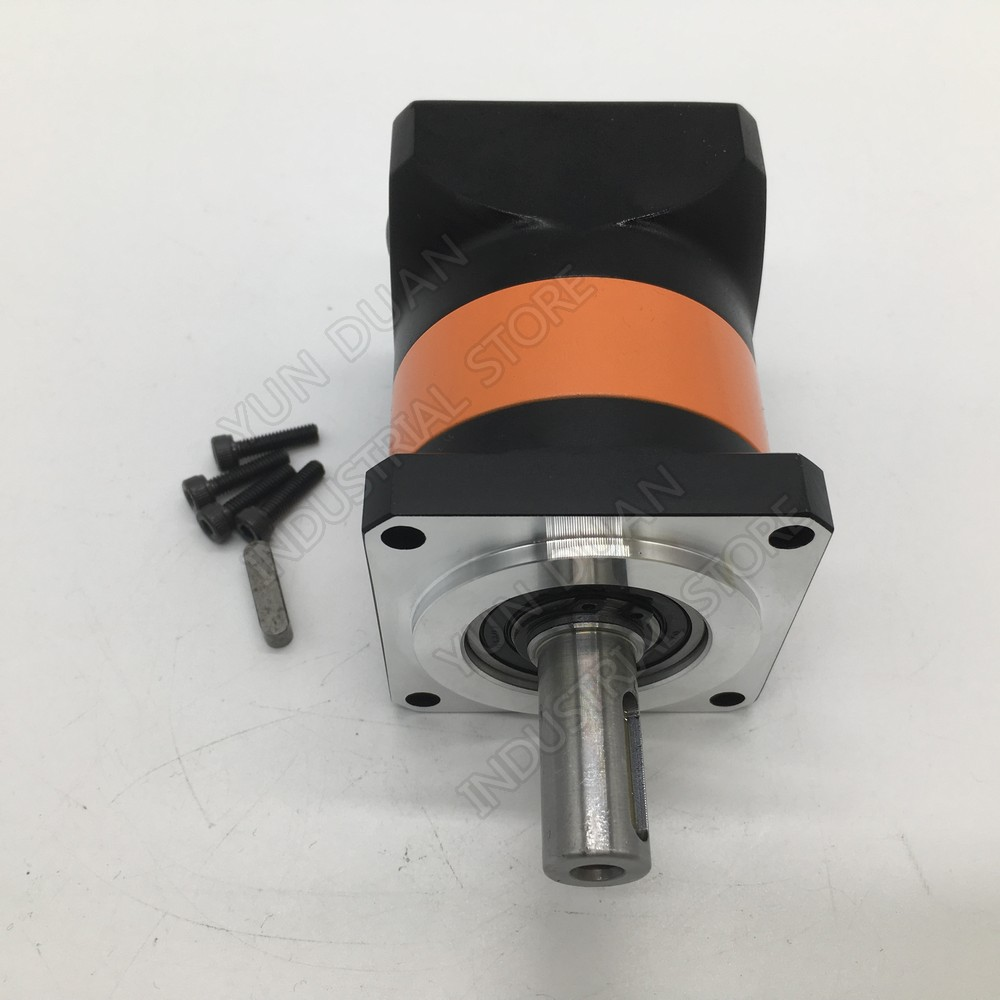 90mm Flange 50:1 Speed Ratio 50 Planetary Reducer 19MM 12.7MM 1/2 Input Gearbox Reducer for 750W 1 KW Servo Stepper Motor CNC90mm Flange 50:1 Speed Ratio 50 Planetary Reducer 19MM 12.7MM 1/2 Input Gearbox Reducer for 750W 1 KW Servo Stepper Motor CNC