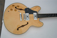 Umani 335 jazz chitarra elettrica colore Naturale trasporto libero immagine reale shot + valigia