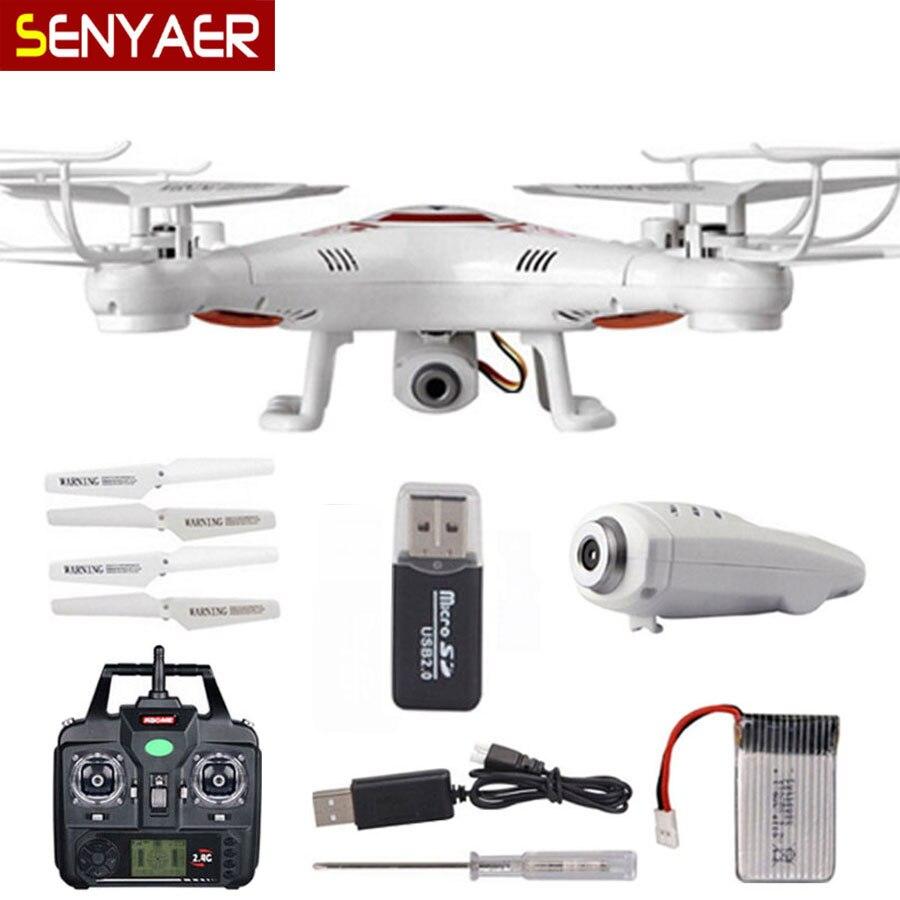 Летающий Камера DM X5C-1 вертолет 2,4 г 4CH 6 оси Drone с HD Камера X5C Quadcopter DM005 большой емкость батареи Дрон ...