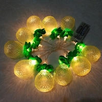 Christmas Decoration Cute Lovely Fruits Fairy Plastic Pineapple String Lights Mini Rope Light Patio Baby Shower