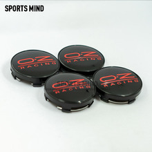 4 adet/grup 14 renkler 60MM OZ yarış araba tekerlek merkezi Hub Caps araç amblemi rozeti logosu tekerlek jant kapağı etiket araba şekillendirici aksesuarları