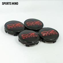 4 stks/partij 14 KLEUREN 60MM OZ Racing Car Wheel Center Hub Caps Auto Embleem Badge Logo Naafdeksel label auto styling accessoires