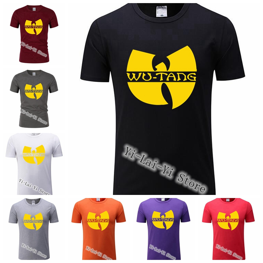 2019 Wu Tang Clan T Shirt Music RZA GZA ODB Method Man Raekwon Rap Hip Hop Sexy Men White Wu-Tang T-shirt Tee WUTANG TShirts image