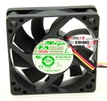 South Korea MGT6012HB-A15 6015 12V 6cm 3 wire 0.23A double ball cooling fan