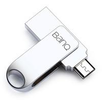 BanQ T60 USB Flash Drive 64GB Metal OTG Pendrive High Speed USB3 0 Memory Stick 32GB