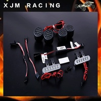 Rovan LT Plastic Front Light And Cnc Metal Tail Lamp Set For 1 5 Losi 5ive