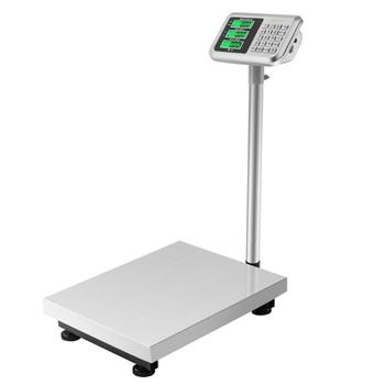 300KG/661lbs LCD Display Floor Postal Platform Scale Electronic Weight Commercial Scales Digital Platform Scales Dropshipping