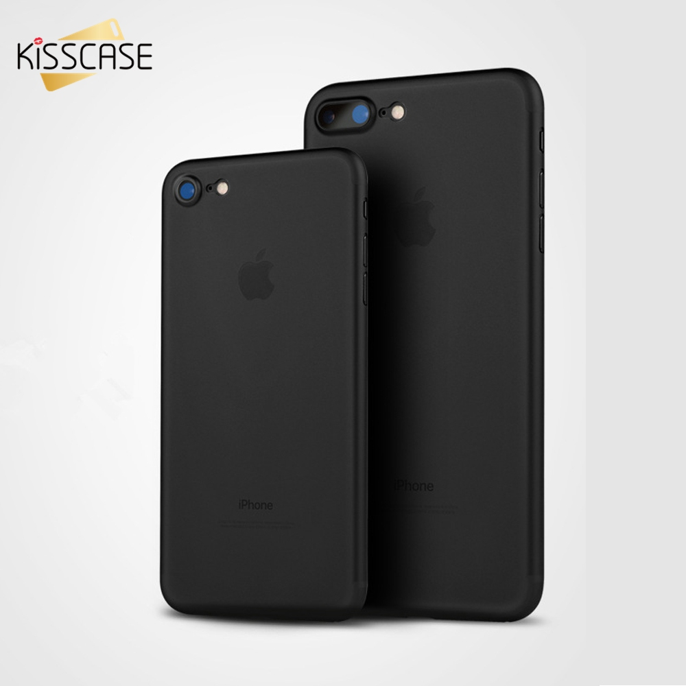 KISSCASE Case Para iPhone 6 7 Plus 5S SE Caso Silicone Rosa Preto Luxo Soft Case Para iPhone 6 6s 7 Plus Phone Bag Cover Fundas