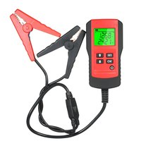 12V LCD Car Battery Tester Digital Battery Tester Analyzer Automotive Vehicle Capacity Battery Power Indicator Diagnostic Tool
