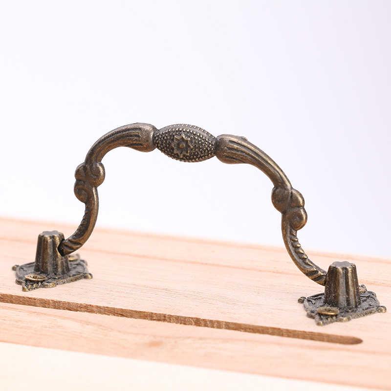 Hot Vintage Sieraden Parel Ketting Armband Houten Schatkist Case Leuke Spaarpot Kan Worden Vergrendeld Opbergdoos Kerstcadeaus