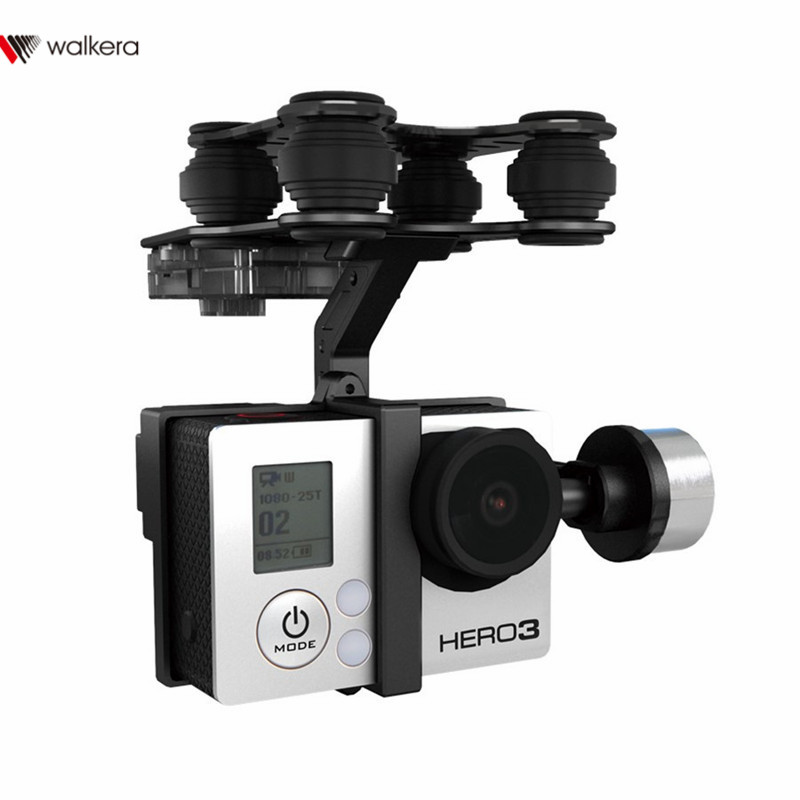 D'origine Walkera G-2D Brushless Cardan En Métal Version Pour iLook/forGoPro Hero 3 Caméra sur Walkera QR X350 Pro RC