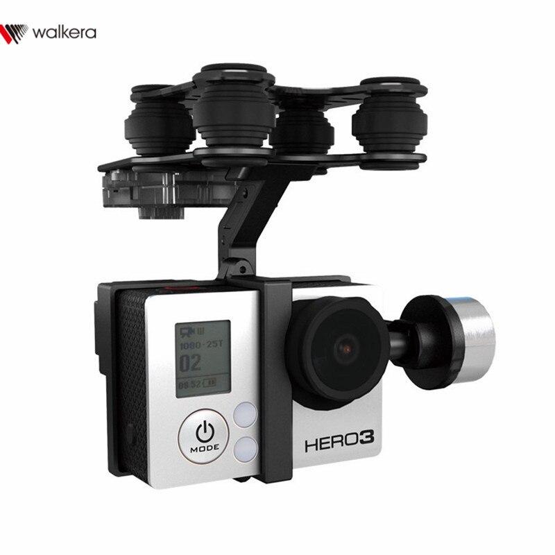 D'origine Walkera G-2D Brushless Cardan En Métal Version Pour iLook/forGoPro Hero 3 Caméra sur Walkera QR X350 Pro RC