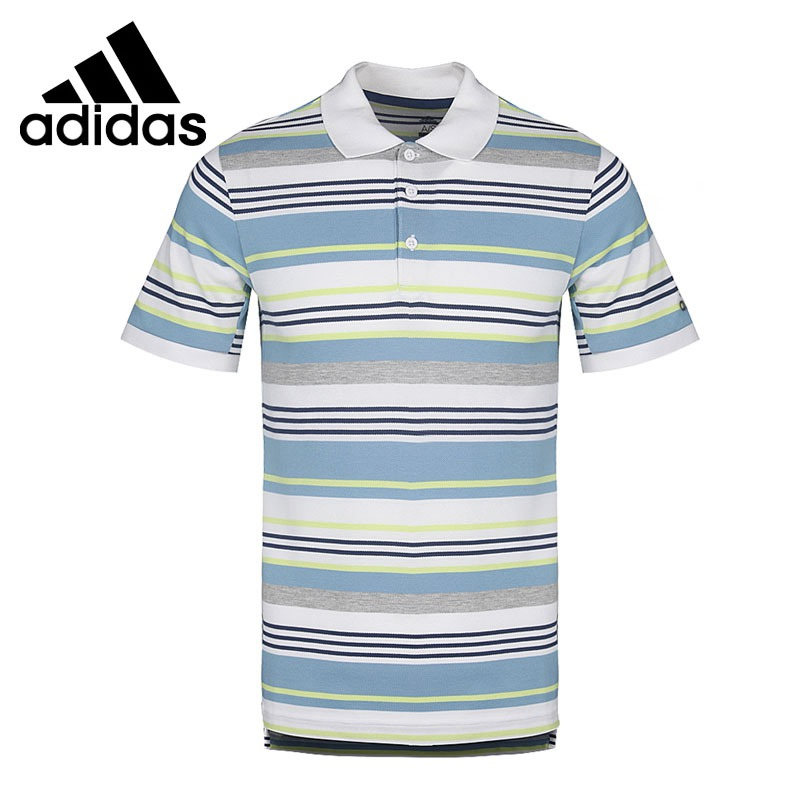 Original New Arrival 2018 Adidas CCTCLUB Exercise POLO shirt Men s short sleeve Sportswear