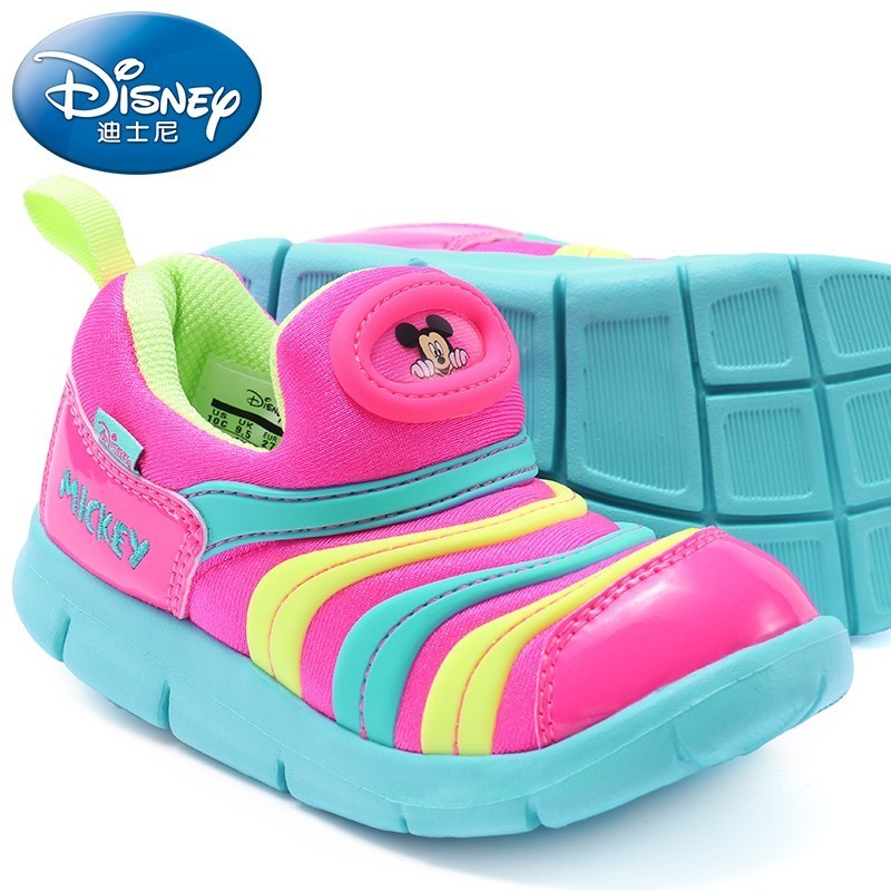 Disney Kids Shoes New Product Comfortable Breathable Sneakers Non-slip Safety Childrens Sports Shoes#1005