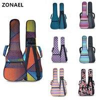 21 23 26 Ukulele Bag Adjustable Ukulele Shoulder Bag Backpack Use Oxford Cloth With Handle With