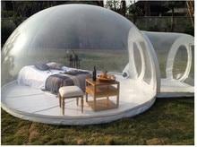 Пузырь надувная Палатка Кемпинг Надувной шатер на свежем воздухе