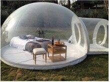 Burbuja inflable tienda de Campaña Inflable al aire libre tienda de campaña