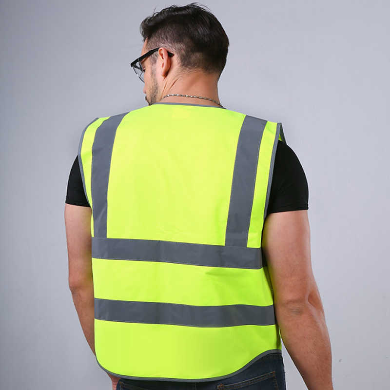 Hivizi Original Brand Vest Utility & Safety Vest Unisex Top Waistcoat With High Visibility Reflective Stripes And Edge Free Ship