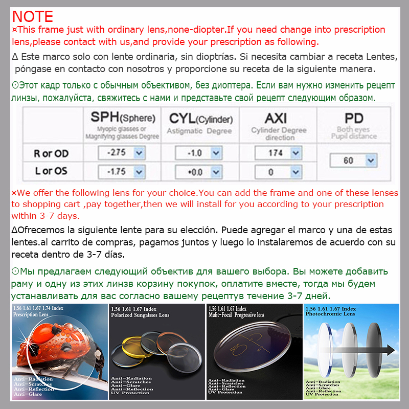 POSESION Eyeglasses Frame Spectacle Men Women Fashion Designed Computer Optical Retro Acetate Myopia Glasses Frame Clear Lens in Men 39 s Eyewear Frames from Apparel Accessories
