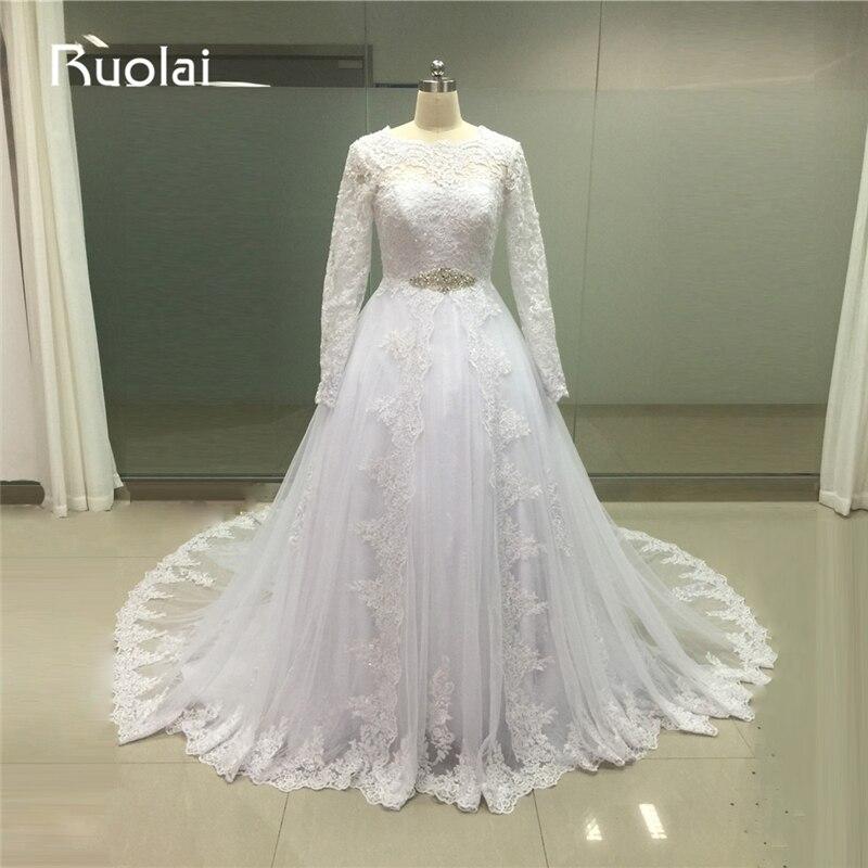 Real Ball font b Gown b font Lace font b Wedding b font Dresses Plus Size