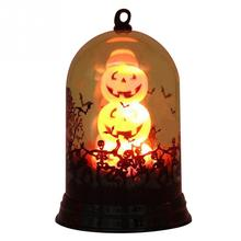 Pumpkin Light Fashion Halloween Decoration Witch Lamp Ornaments Gifts