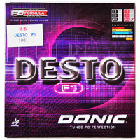DONIC F1 DESTO Table Tennis Rubber original Quick Attack Pimples in with sponge ping pong tenis de mesa