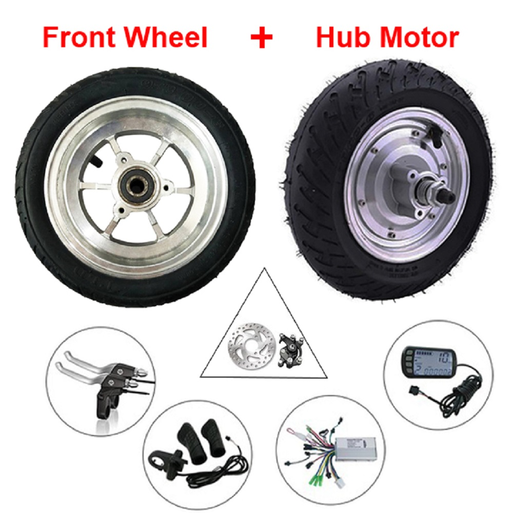 Hub Motor 9inch 24V 36V48V 350W/500W brushless DC hub motor kit electric scooter kit electric bicycle wheel motor Ebike Kit