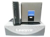 Хорошее Качество Разблокирована разблокирована Linksys spa3000 телефонный адаптер с маршрутизатором voip ворота способ VoIP FXS FXO PSTN spa3000 без рознично...