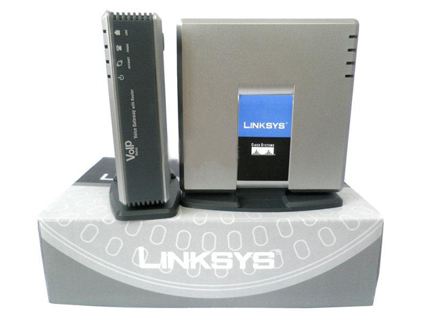 Good Quality UNLOCKED Unlocked Linksys SPA3000 Phone Adapter with router VOIP Gate way V ...