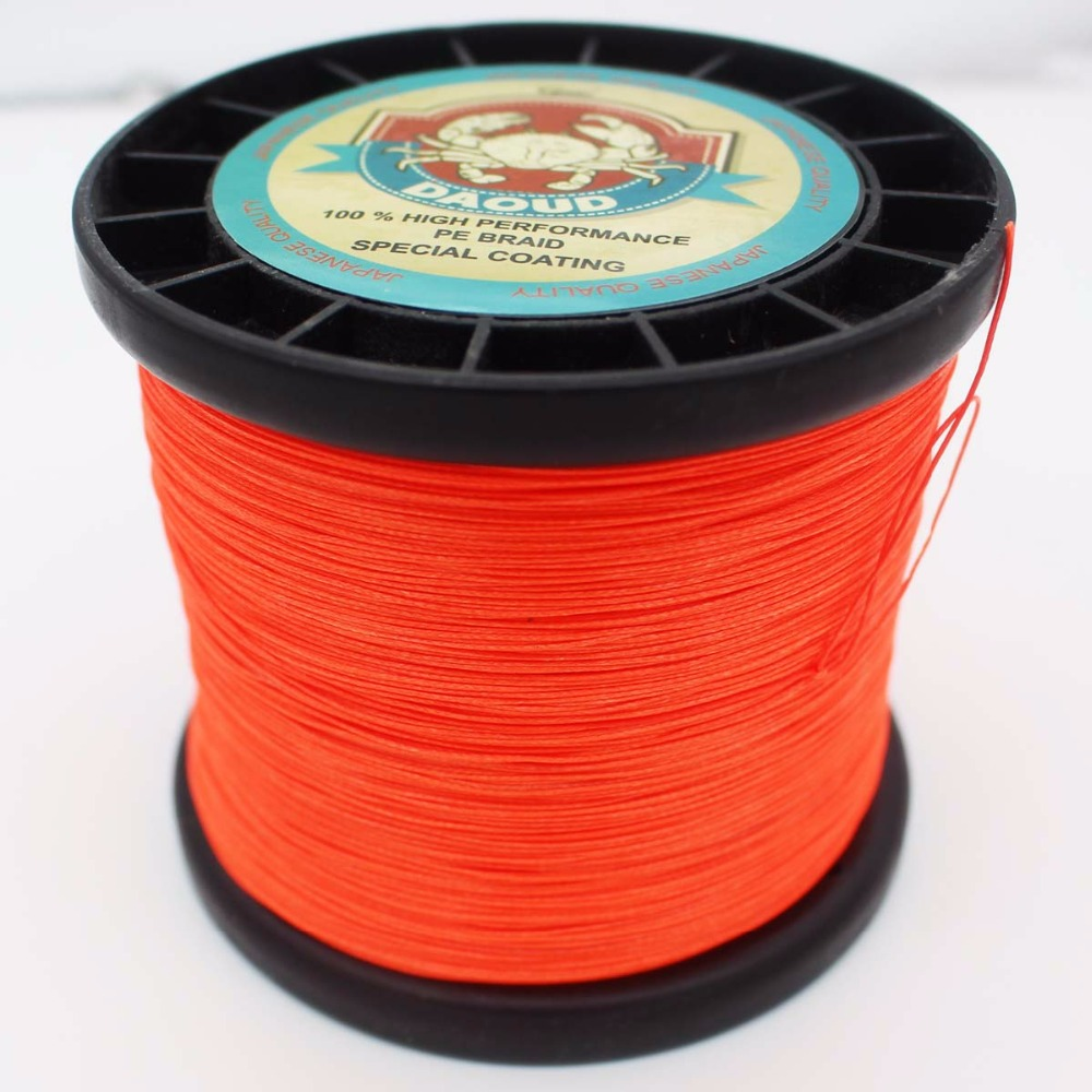 Daoud 8 Strands Braided Fishing line 1000m Super Strong Japanese ...